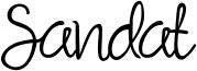 Sandat Font