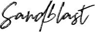 Sandblast Font