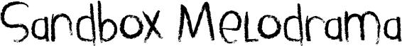 Sandbox Melodrama Font