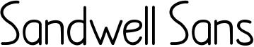 Sandwell Sans Font