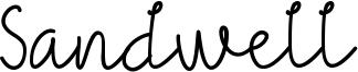 Sandwell Font
