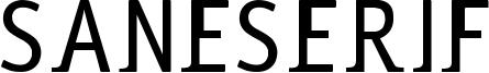 Saneserif Font