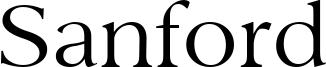 Sanford Font