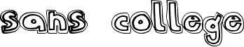 Sans College Font