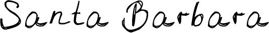 Santa Barbara Font
