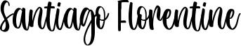 Santiago Florentine Font