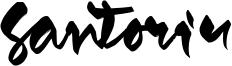 Santoriu Font