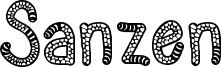 Sanzen Font