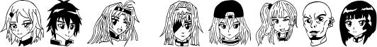 SAO Image Font