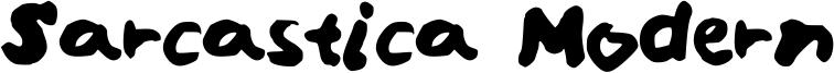 Sarcastica Modern Font