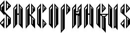 Sarcophagus Font