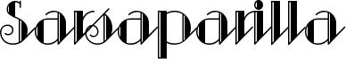 Sarsaparilla Font