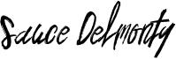 Sauce Delmonty Font