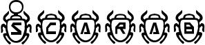 Scarab Font