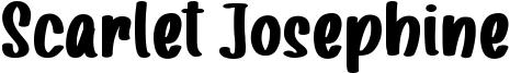 Scarlet Josephine Font