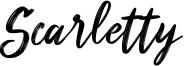 Scarletty Font