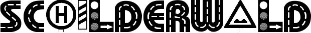 Schilderwald Font