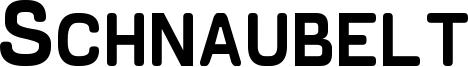 Schnaubelt Font