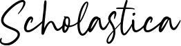 Scholastica Font