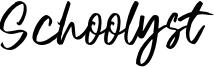 Schoolyst Font