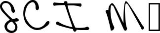 SCI Mk Font