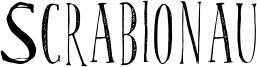 Scrabionau Font