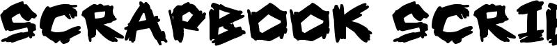 Scrapbook Scribblers Font