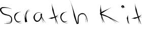 Scratch Kit Font