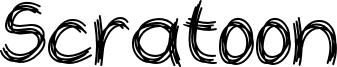 Scratoon Font