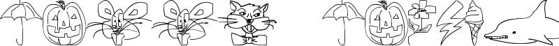 Screen Scrawls Font