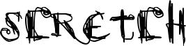 Scretch Font