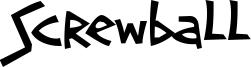 Screwball Font