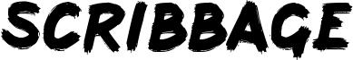 Scribbage Font