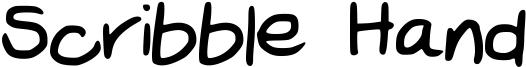 Scribble Hand Font
