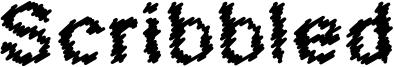 Scribbled Font