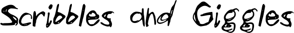 Scribbles and Giggles Font