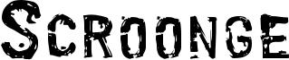 Scroonge Font