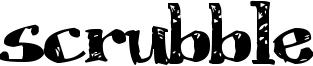 Scrubble Font