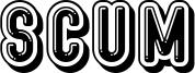 Scum Font