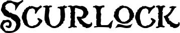 Scurlock Font