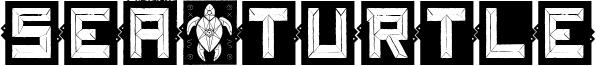 Sea&Turtle Font