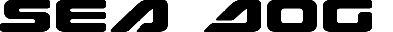 Sea Dog 2001 Font