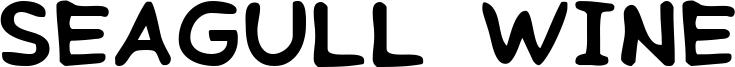 Seagull Wine Font