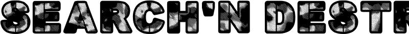 Search'n Destroy Font