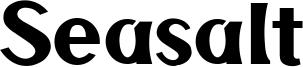Seasalt Font