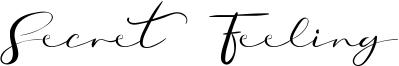 Secret Feeling Font