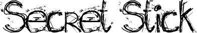 Secret Stick Font
