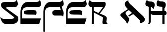 Sefer AH Font