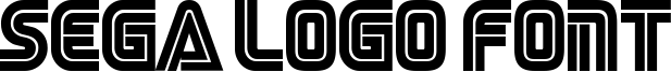 Sega Logo Font Font