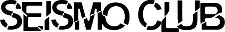 Seismo Club Font